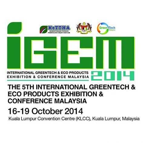 IGEM 2014 The 5th International Greentech Eco-Products Exhibition & Conference>