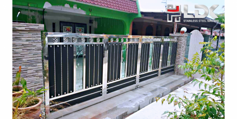 Stainless Steel Mix Gate Design