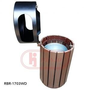 Rubbish Bins - RBR-1703WD