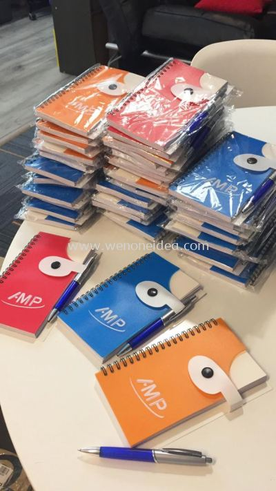 Note Pad with Pen