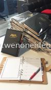 PU Note Book with Pen & Organizer Stationery Corporate Gift