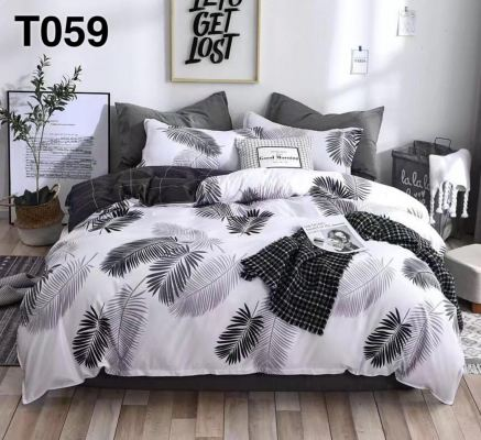 King/Queen 5in1 with comforter set -T059-