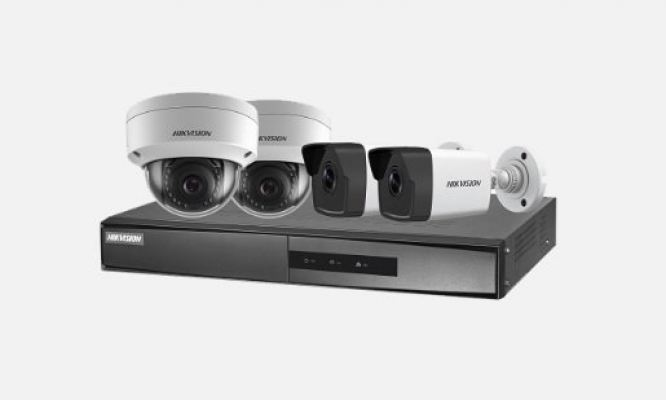 HIK VISION NK42E3H 2MP Bullet/Dome PoE Kit