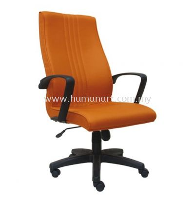 LINER STANDARD HIGH BACK FABRIC CHAIR WITH POLYPROPYLENE BASE