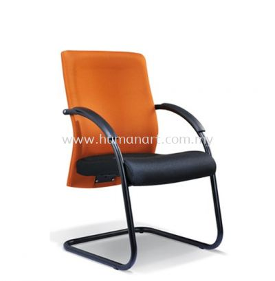 MERIT STANDARD VISITOR FABRIC CHAIR WITH EPOXY BLACK CANTILEVER BASE