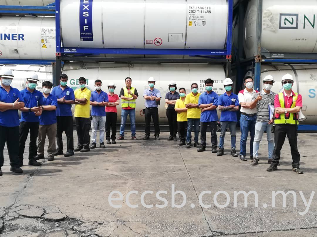 Confined Space Training in SL Container Terminal Sdn. Bhd.