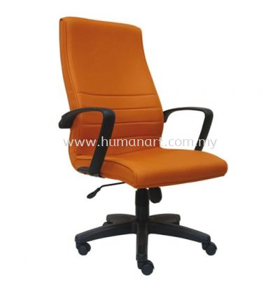 PLUS STANDARD HIGH BACK FABRIC CHAIR WITH POLYPROPYLENE BASE