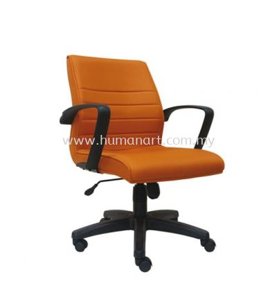 PLUS STANDARD LOW BACK FABRIC CHAIR WITH POLYPROPYLENE BASE