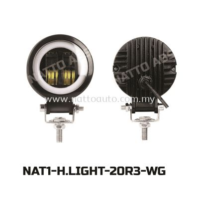 HEAD LIGHTS 20R3(WHITE)