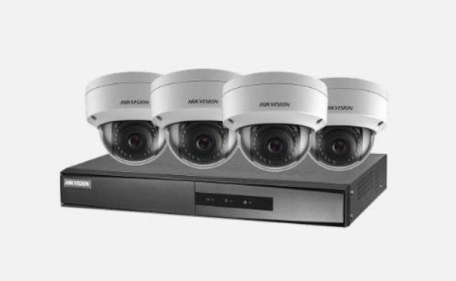 HIK VISION NK42E1H-1T(WD) 2MP Dome PoE Kit