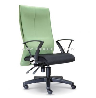 DISS STANDARD HIGH BACK FABRIC CHAIR WITH POLYPROPYLENE BASE