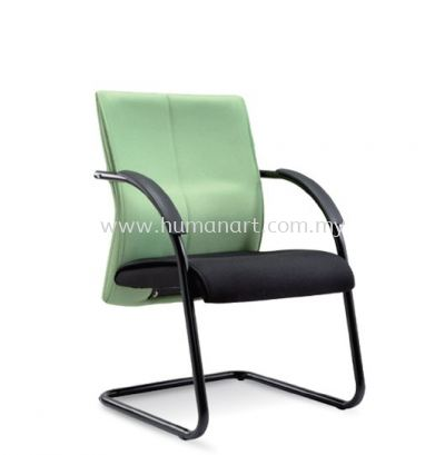 RISE STANDARD VISITOR FABRIC CHAIR WITH EPOXY BLACK CANTILEVER BASE ASE 124