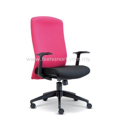 SKILL STANDARD MEDIUM BACK FABRIC CHAIR WITH NYLON ROCKET BASE ASE 2192