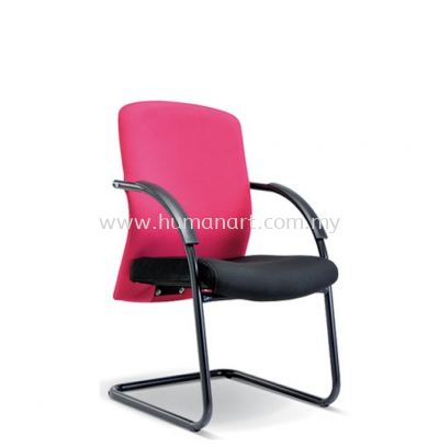 SKILL STANDARD VISITOR FABRIC CHAIR WITH EPOXY BLACK CANTILEVER BASE ASE 2195