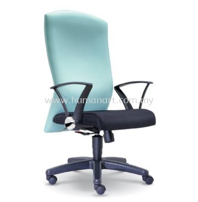 MOSIS STANDARD HIGH BACK FABRIC CHAIR WITH POLYPROPYLENE BASE
