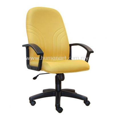 TRUST STANDARD HIGH BACK FABRIC CHAIR WITH POLYPROPYLENE BASE ASE 5001