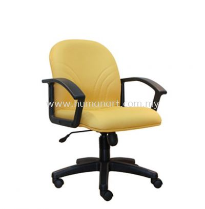 TRUST STANDARD LOW BACK FABRIC CHAIR WITH POLYPROPYLENE BASE ASE 5003