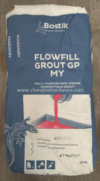 000585 BOSTIK GP FLOWFILL GROUNT - 25KG PER BAG