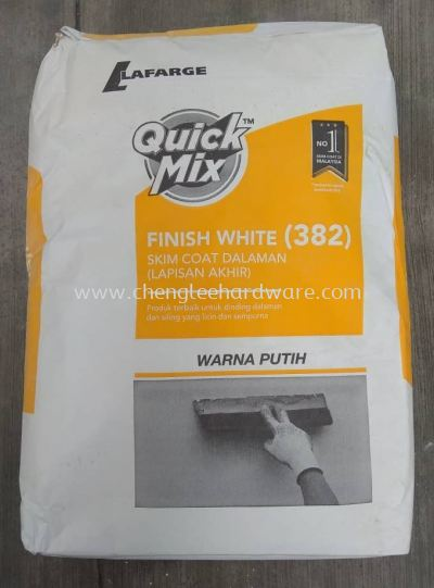 006210 ( 382 ) FINISH COAT WHITE - 25KG PER BAG