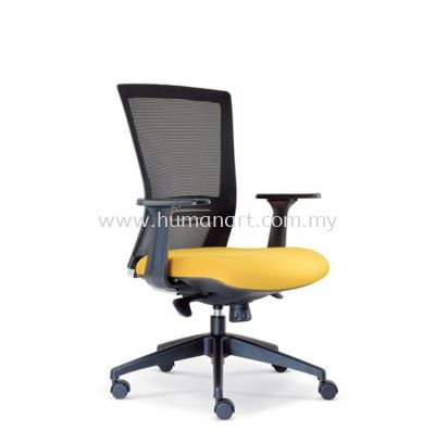 TALENT 2 MEDIUM BACK ERGONOMIC MESH CHAIR WITH ROCKET NYLON BASE