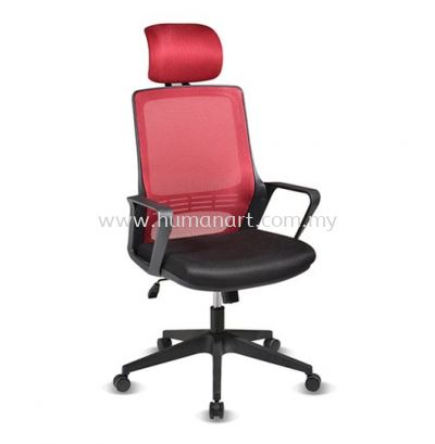 STRANMAN HIGH BACK ERGONOMIC MESH CHAIR WITH NYLON BASE- SM-P1