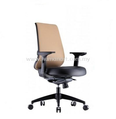 ORION 2 MEDIUM BACK ERGONOMIC MESH CHAIR WITH NYLON ROCKET BASE
