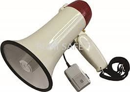 Megaphone Hailer with Rechargeable Battery
