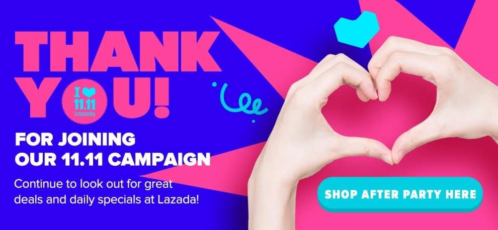 Thank You Lazada 11.11!