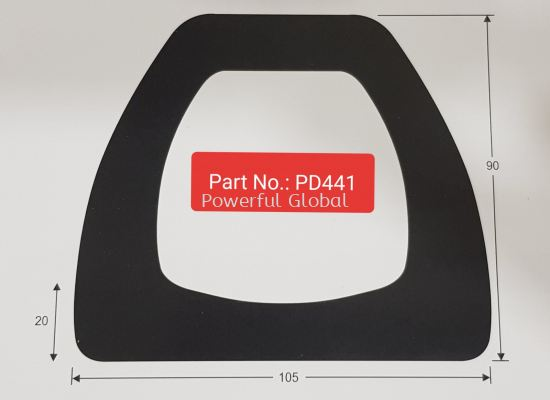 D Fender Docking Rubber PD441
