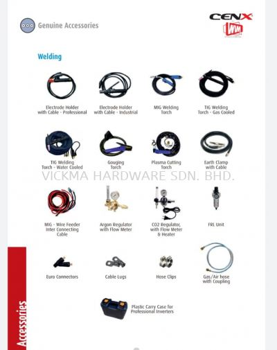 CENX WIN WELDING ACCESSORIES