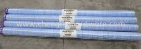 000541 6FT X 100YRD BLUE AND WHITE CANVAS COVERY & PACKAGING