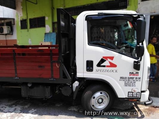 SPEEDLOCK EQUIPMENT SDN BHD Lorry sticker