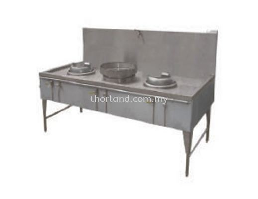 (C61) 2 Hole Kwali Range & 1 Soup Ring