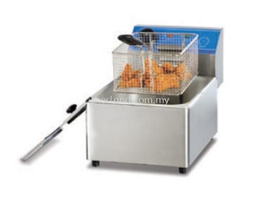(A140)  Counter Top Electric 1 Tank Fryer(1 Basket )  (A20)