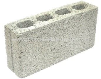 000231 100MM X 190MM X 390MM ( A ) CEMENT  HOLLOW BLOCK - 120PCSPALLET