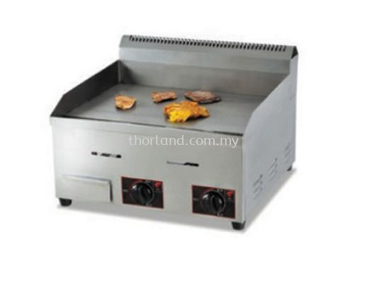 (A68) GAS GRIDDLE (FLAT PLATE)