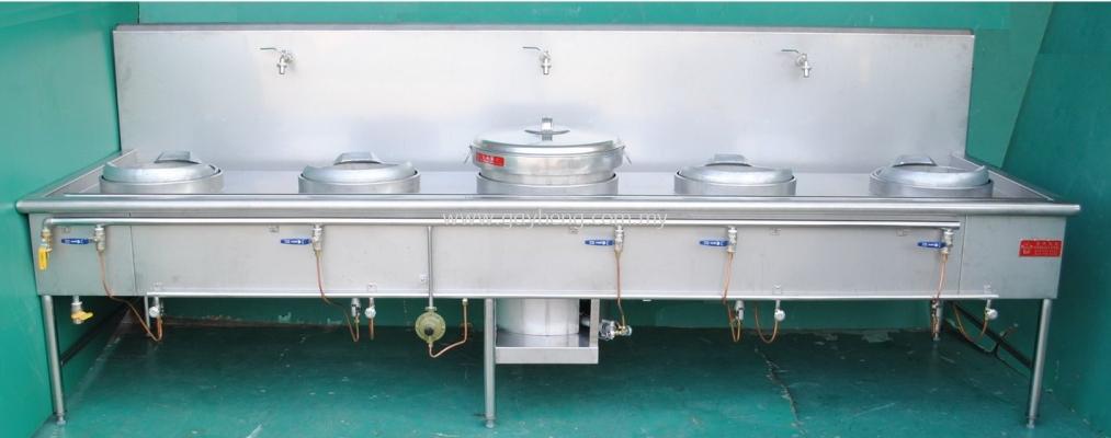 Stainless Steel Kwali Range 4 Ring 1 Soup ����¯ 4��1��