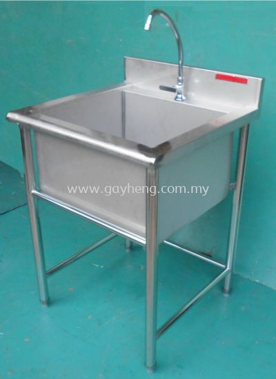 Stainless Steel 1 Bowl Sink �׸ֵ���ϴ��