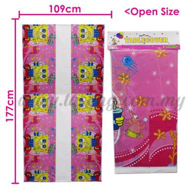 Table Cover Sponge Bob (P-TC-SB)