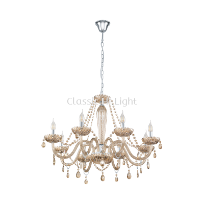 Eglo 39093 Crystal Pendant Light