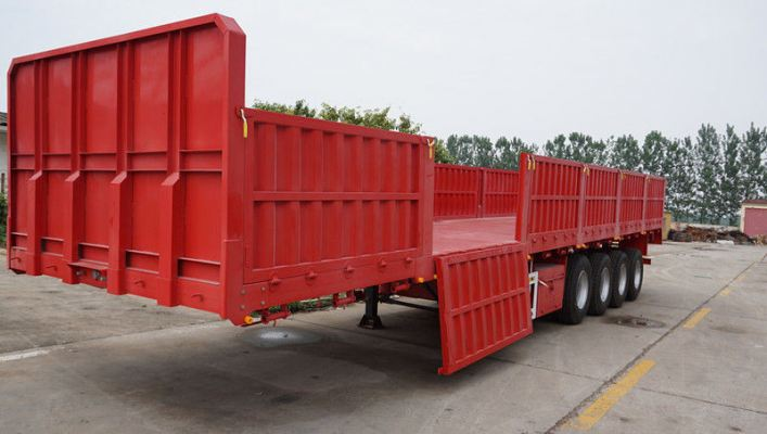 40ft Cargo Trailer, 20 Tonne