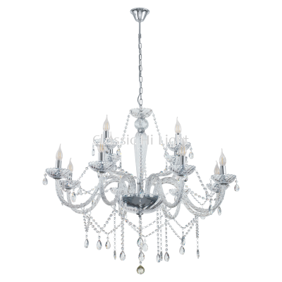 Eglo 39102 Crystal Pendant Light