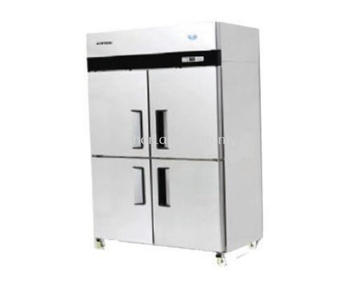 (J01)  4 DOOR UPRIGHT CHILLER/FREEZER
