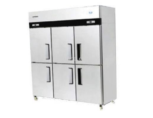 (J02) 6 DOOR UPRIGHT CHILLER / FREEZER