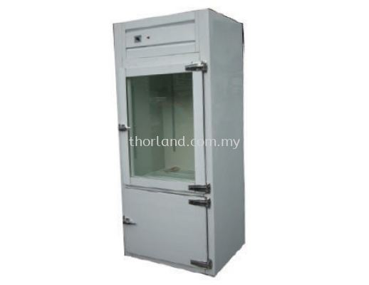 (J03) 2 DOOR UPRIGHT CHILLER/FREEZER