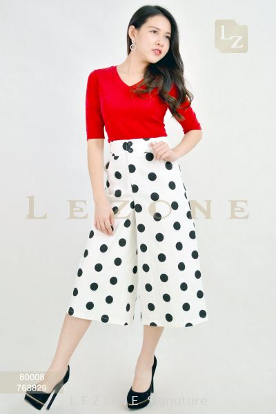 768829 POLKA DOT CULOTTES��2nd pcs onwards 50%��