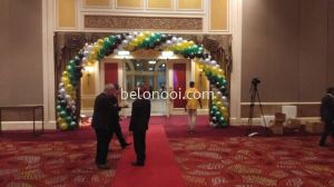 Air Balloon Arch set up at GICC , Genting, First World Hotel  Nov 2019