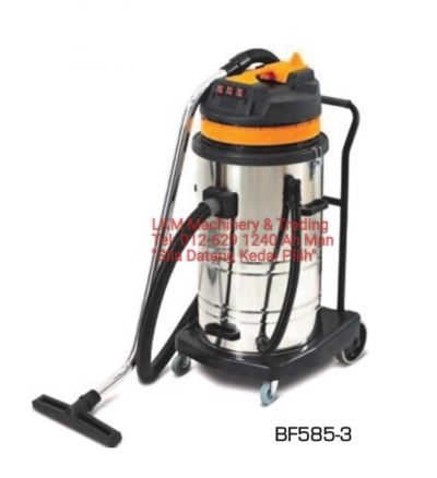Ogawa Industrial Wet & Dry Vacuum Cleaner 80L - Three Motor 3000W