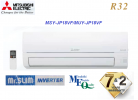 Mitsubishi Electric Air Conditioner 2.0HP R32 Standard Inverter JP Series R32 Inverter Air Conditioner MITSUBISHI ELECTRIC AIR CONDITIONER