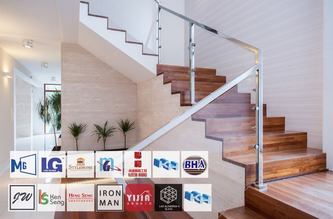 Tempered Glass Staircase Railing Johor Bahru Staircase